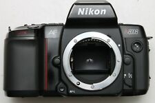 NIKON F801 N8008 FILM SLR BODY - LIGHT METER WORKS WITH BOTH AF AND MF LENSES