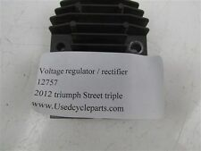 2012 Triumph Street Triple -  rectifier - voltage regulator
