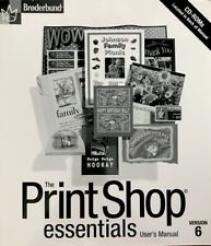The Print Shop Essentials User Manual Version6 with CD