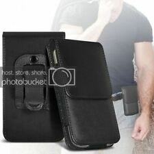 Vertical Belt Small Tab Pouch Case For Alcatel OT-800 One Touch Tribe
