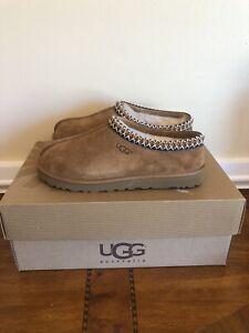 Ugg Mens Tasman Chestnut Slippers Size 9 NIB
