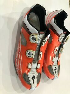 Specialized S-Works Body Geometry Size 44 Carbon Road Cycling Shoes