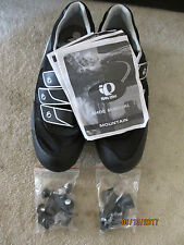 Pearl Izumi Quest MTB Mountain Bike Shoes Mens Euro 45 With Cleats Never Worn