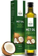 MCT-Olio di Cocco acidi grassi essenziali - 500ml Adatto per vegani, vegetariani