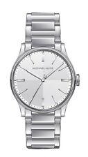Michael Kors Ladies Mini Bailey Silver-Tone Three Hand Watch Mk3614W $225
