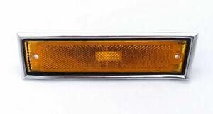 LH Side Marker Light w/ Chrome Bezel For GMC C1500, C2500, & More