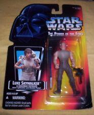 Vintage 1995 Star Wars Luke Skywalker Dagobah Gear Figure, Very Good shape, MOC!