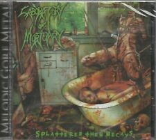 LABORATORY OF MORTUARY -SPLATTERED THEN DECAYS EP (CD) BRAND NEW SEALED