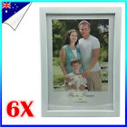 6 x A4 Size White EPS Document Certificate Photo Picture Glass Frame Bulk PB32