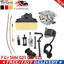 Für Stihl 021 023 025 MS210 230 250 Motorsäge Vergaser Zündspule Luftfilter DE