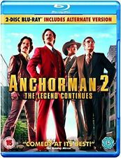 ANCHORMAN 2 - THE LEGEND CONTINUES - BLU RAY - NEW / SEALED