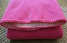 Pet Blanket - Bright Pink - soft 24x24