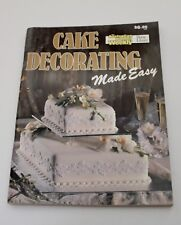 Australian Womens Weekly - Cake Decorating Inc. Childrens Cakes - Good Condition