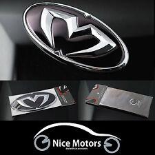 Chrome Edition Emblem Grille,Trunk,Horn Caps (Fit: KIA Forte Koup 2009-2013)