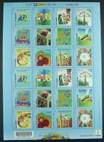 Brasilien Brazil 2014 Fußball WM FIFA World Cup Soccer ZD-Bogen 4127-4138 MNH