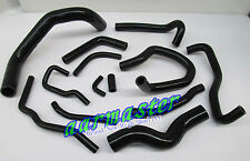 Silicone Heater Hose Kit  for Nissan Silvia S13 SR20DETBlack