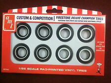 M&H Deluxe Championship Tire Pack 1:25 Scale AMTPP002