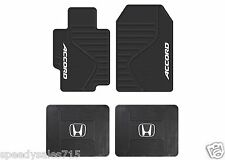 Plasticolor 001408R01 Honda Accord Front & Rear Floor Mats New Free Shipping USA