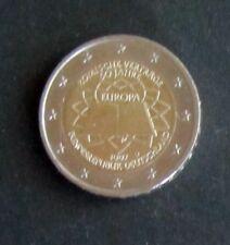 """2 Euro Sonder-Münze """"D"""" Römische Verträge Prägejahr 2007 aus Umlauf"""