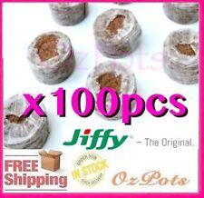 30mm Jiffy Coir Pellets x 100pcs - Propagation & Seedling - Herb, Vegetable