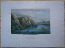 1856 Meyer print MAIDEN ROCK, MISSISSIPPI, WISCONSIN (#42)