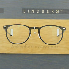 LINDBERG NOW 6529 47 D17 MATTE BROWN ROUND EYEGLASSES SPECTACLE FRAMES DENMARK