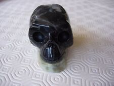 crystal skull chinese amazonite matrix with geode formations