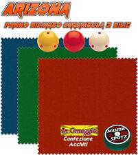 Biliardo carambola panno Arizona cm.240x160 x biliardo K180-190 + omaggio