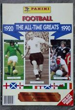 Panini Football 1920-1990 The All-Time Greats Sticker Album