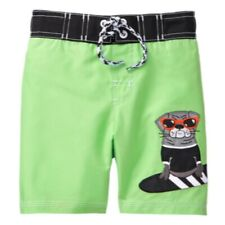 Gymboree Boy Swimming Pants 5T Green Puppy SPRING VACATION New