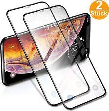 2 x Hartglas für iPhone 11 11 Pro X Xr Xs Max Panzerfolie Schutzfolie 9h Glas