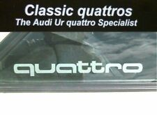 Audi UR Quattro Turbo Coupe WR Quarter Glass Decals-stickers 857853487a