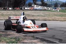 Fotografía 9x6, James Hunt F5000 Elfin MR8, Winton Raceway Australia 1978