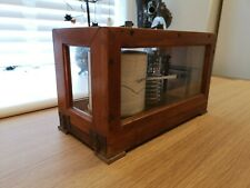 More details for vintage lufft barograph, accurate compensated aneroid movement, precision german