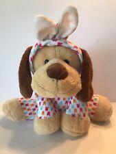 "Dan Dee 12"" Seated Puppy Dog Bunny Rabbit Costume Pajamas 2016 Plush"