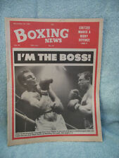 November Boxing Weekly Sports Magazines in English
