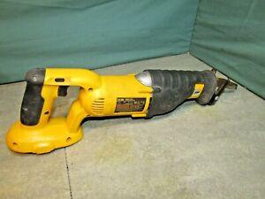 Dewalt Reciprocating saw. DC385. 18v Nicad. bare unit. No battery.