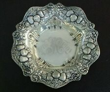 "Woodside Sterling Company ""Bonbonniere"" Berry Bowl"