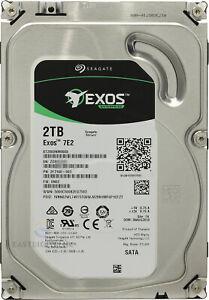 "ST2000NM0008 Seagate Enterprise 7E8 2TB 7.2K 3.5"" SATA 2F3100 6Gb Hard Drive"
