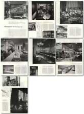 1957 Restaurant Design, Portland Hotel Benson, Stuft Shirt, Snoqualmie Summit
