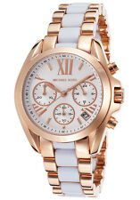 Michael Kors MK5907 Ladies Mini Bradshaw Chronograph Rose Gold Watch