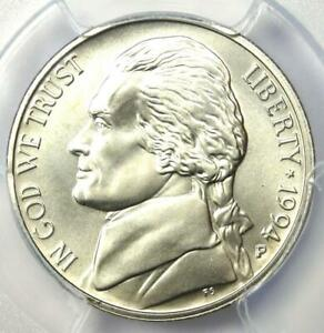 1994-P SMS Jefferson Nickel 5C Coin - Certified PCGS MS70 (SP70) - $425 Value!
