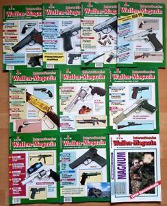 Waffenmagazin 1994 komplett Zeitschrift Pistolen Hefte internationales Jahrgang