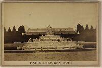Versailles Parigi & I Dintorni Francia Foto PL53Cn1 Vintage Albumina c1880