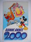 """CPM """"Le journal de Mickey - Bonne année 2000 - Mickey et Dingo"""""""
