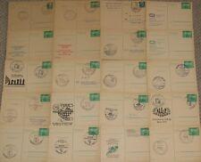 20 Stück Sport Ganzsachen DDR Stempel DDR Lot Sammlung LOT09918