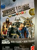 DC JUSTICE LEAGUE MIGHTY MINIS SERIES 1 BLIND BAG NIB UNOPENED BATMAN SUPERMAN