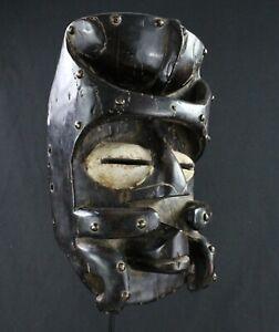 Arte Africana tribal - Excelente Máscara Glé O Plataforma Bestia - 33 CMS