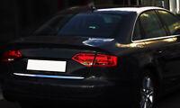 2007-2015 Audi A4 B8 Saloon Chrome Rear Trunk Tailgate Lid Molding Trim S.Steel