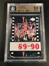 MICHAEL JORDAN 1998 UPPER DECK #33 LIVING LEGEND TIMEFRAME BGS 9.5 BULLS MJ